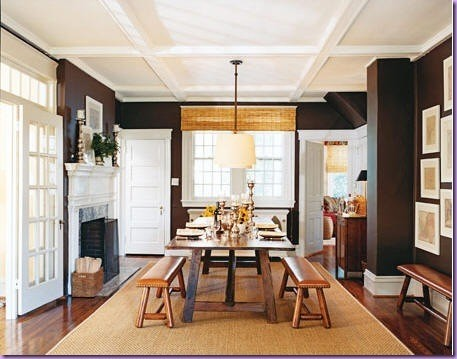 Morrone interiors adding flair to your home with box beams for Box beam ceiling