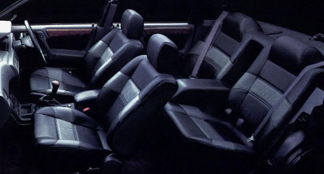 Mitsubishi Galant E33A AMG JDM interior