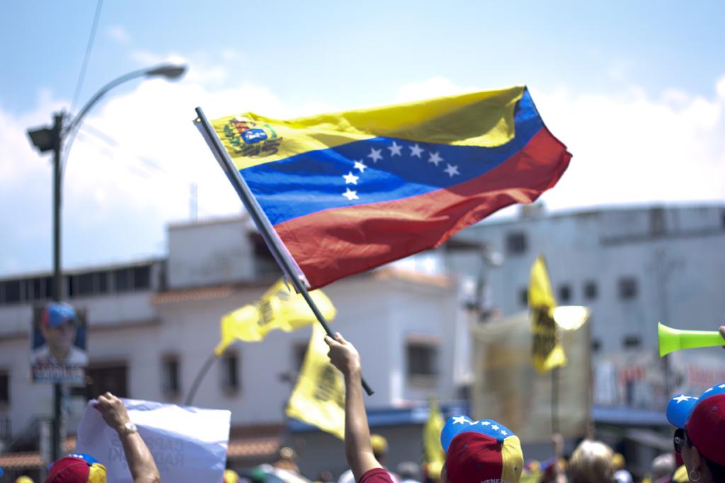 The Aglaworld: La bandera en alto: Hoy marche por ti, Venezuela
