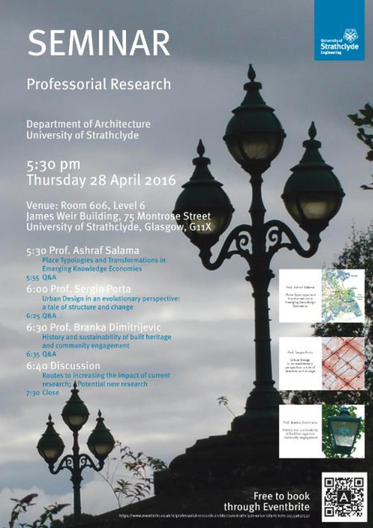 Professorial Research Seminar
