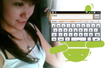 Autotext Blackberry di Aplikasi BBM Android