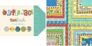 Moda APPLE JACK Quilt Fabric by Tim and Beck