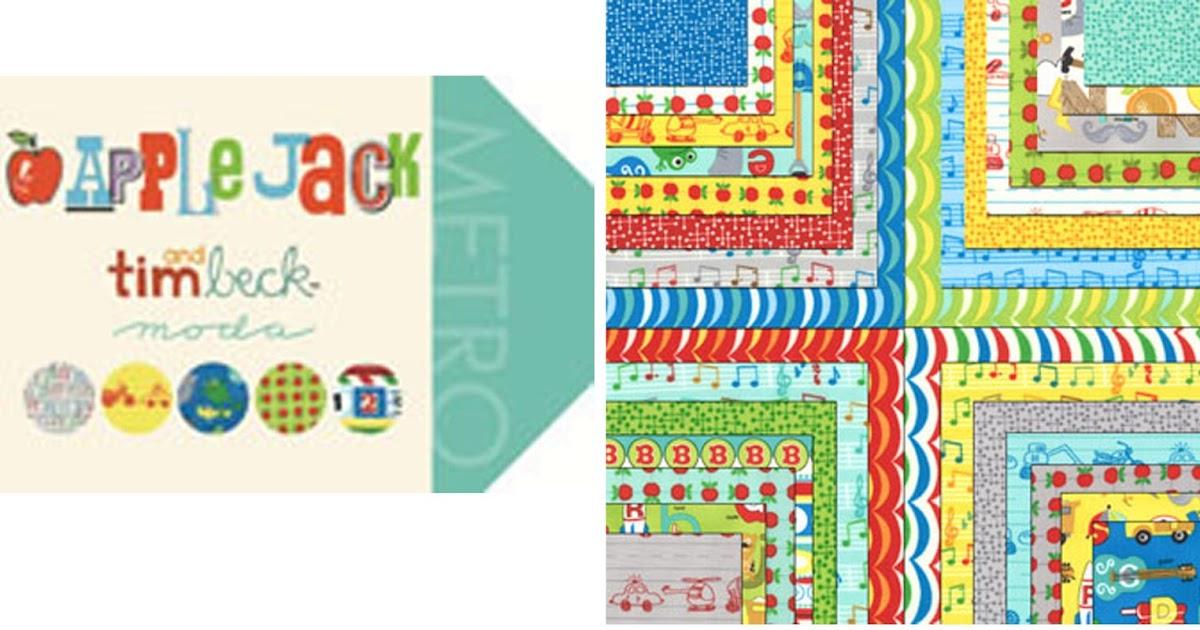 Crazy Quilt Girl Fabric Shop Moda Apple Jack Fabric