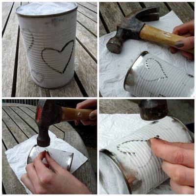 Manualidades con latas de aluminio faciles