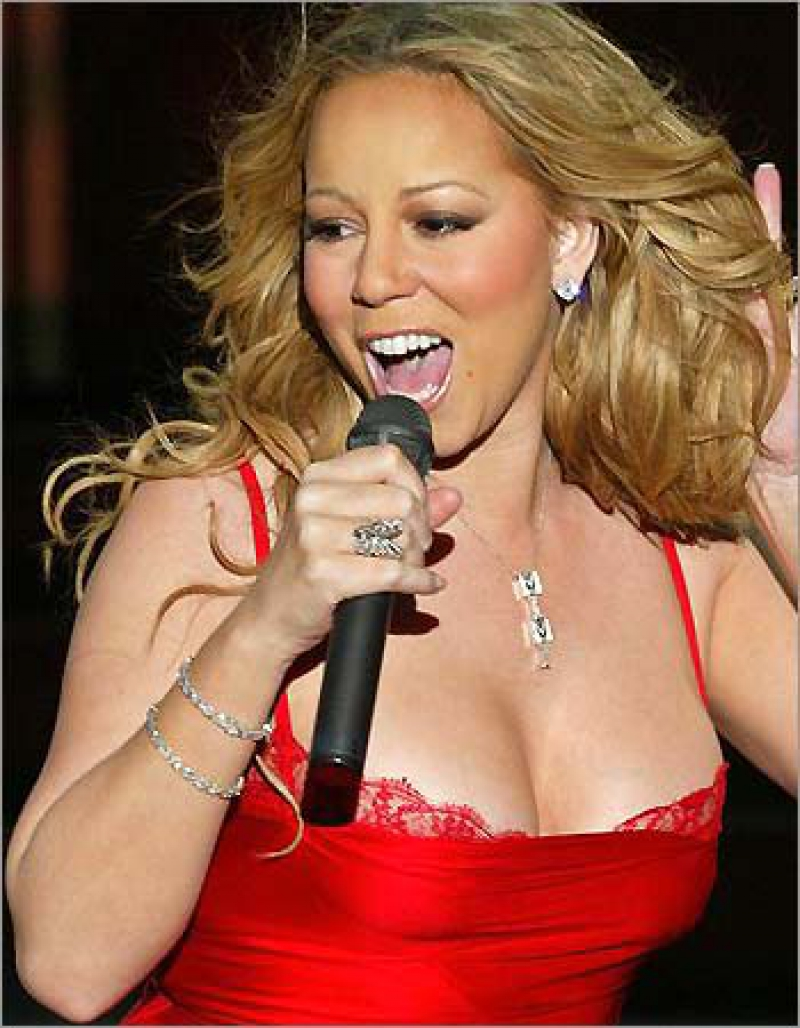 Mariah Carey transformed