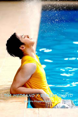 Sam Concepcion by the pool