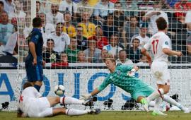 أهداف مباراة فرنسا وانجلترا 1-1 في بطولة اليورو 11-6-2012