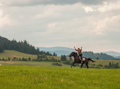konie, jazda konna, jazda w terenie, Orawa, Lipnica Wielka, Babia Góra, sesja zdjęciowa