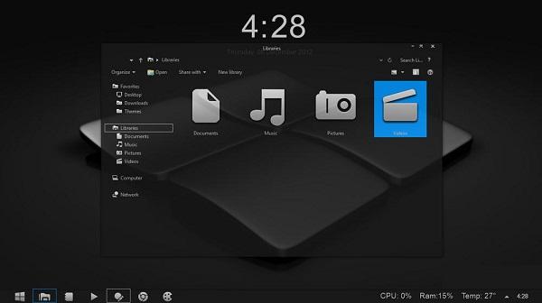 Тема Для Windows 7 В Стиле Windows 8
