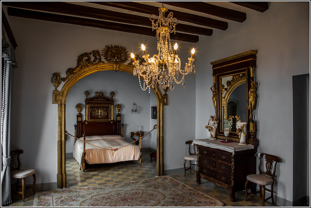 Castillo de Escornalbou, dormitorio de invitados