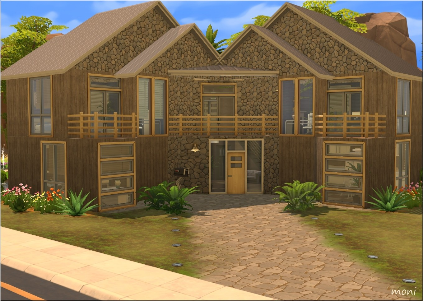 Arda sims natural house ts4 for Holistic house