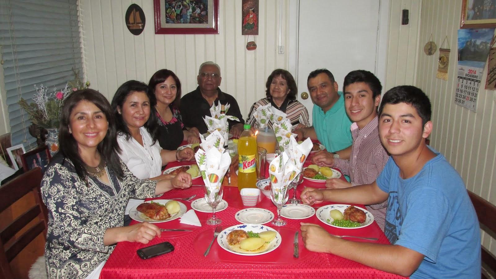 El entorno familiar de Evelina Rojas