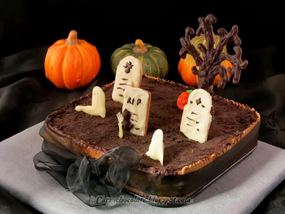 Cooking In English O Intent 225 Ndolo Halloween Cemetery Cake