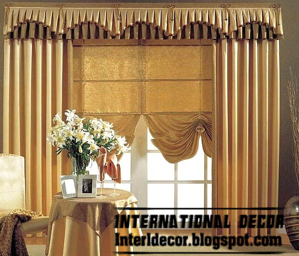 Best Curtains Models 2013 Unique Valance Design With Stylish Shades Models