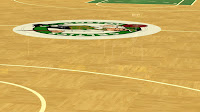 NBA 2K13 Realistic Floors Reflections Mod