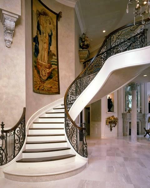 - Escaleras de forja interiores ...