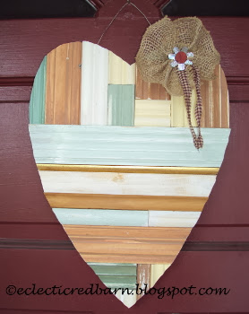 My Unordinary Valentine wooden heart