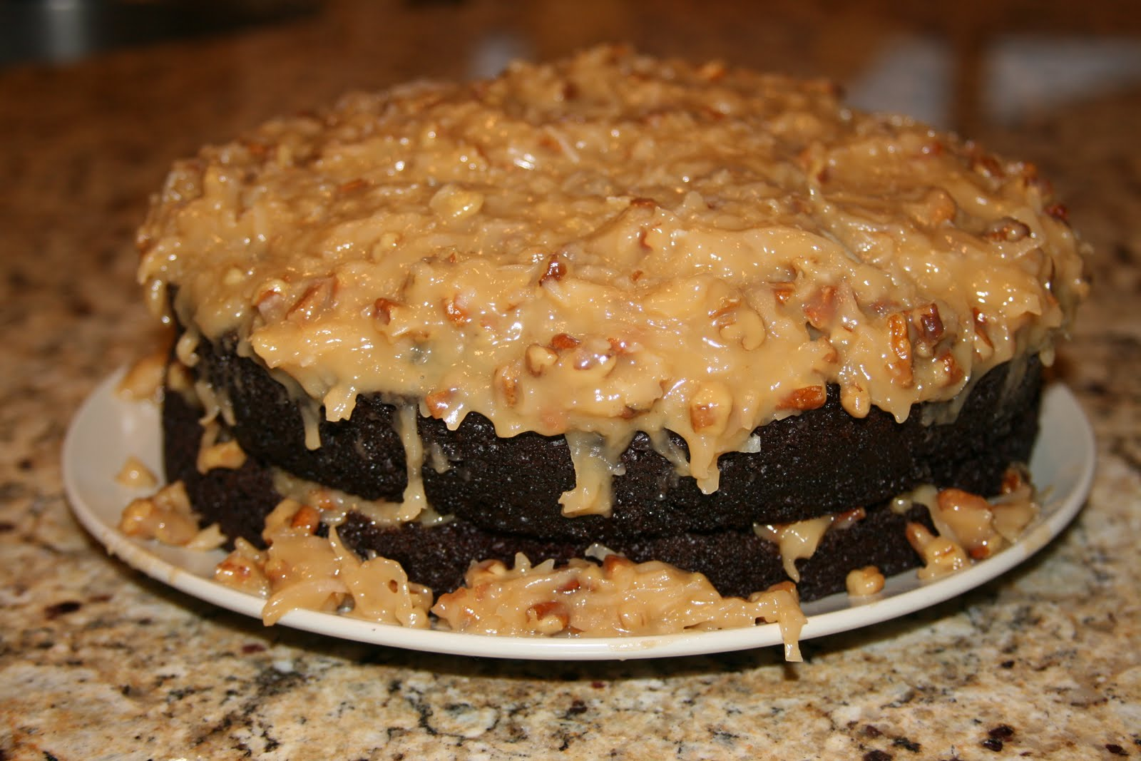 German Chocolate Cake | German Chocolate Cake Frosting | German ...