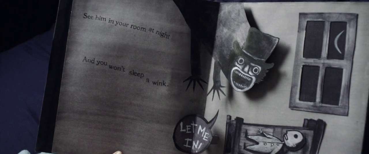 The Babadook Australian horror film 2014 book let me in