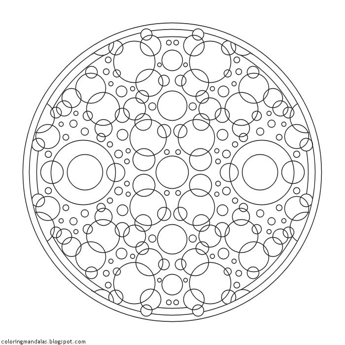 Coloring Mandalas 55 Healing Rain