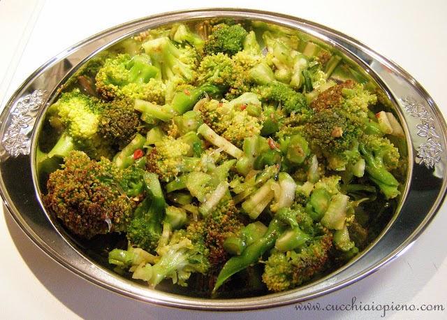 brócolis ao vapor