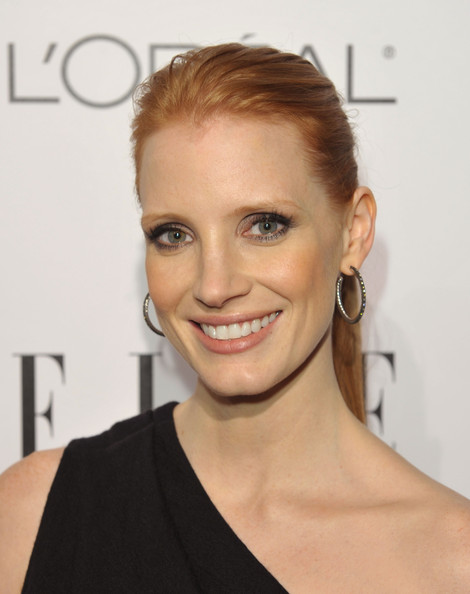Jessica Chastain face