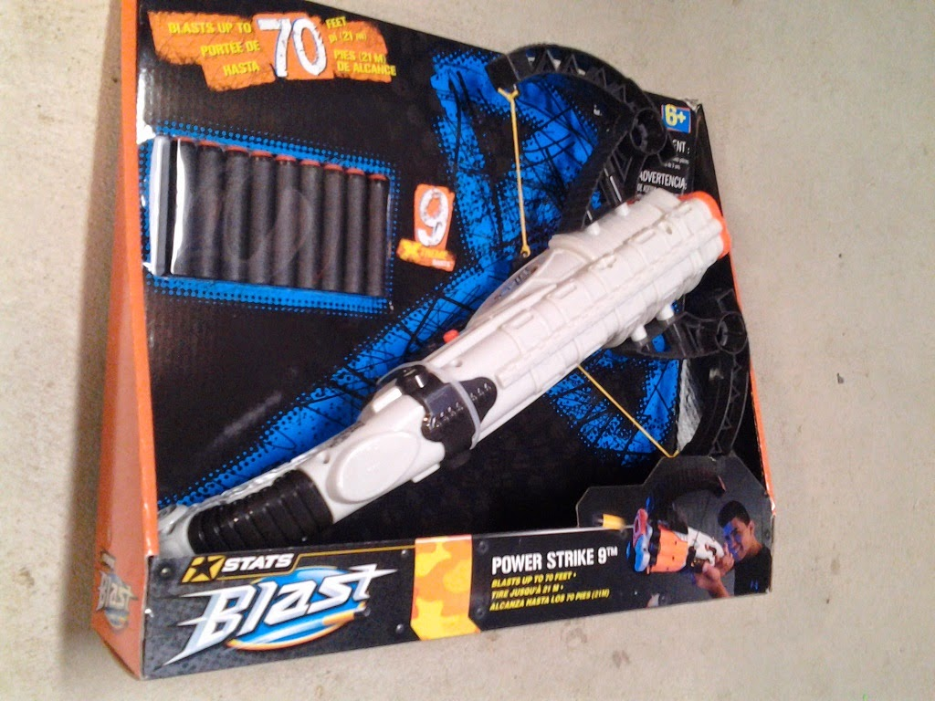 buffdaddy nerf prime time toys double feature backyard cross bow