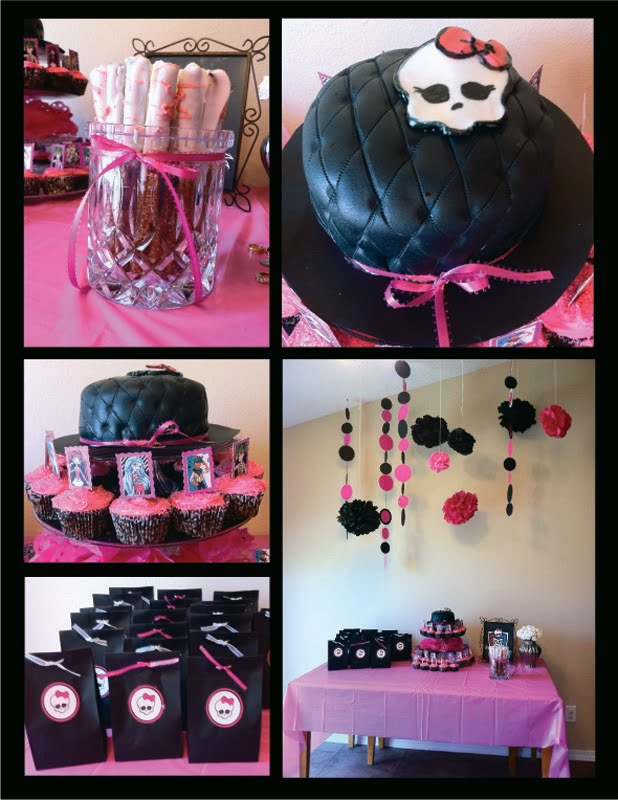 Monster High Party I Did For A Super Sweet Little Girl
