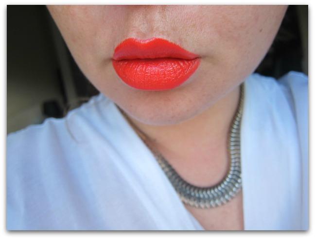 Kardashian Beauty Joystick Retro Red Face Swatch