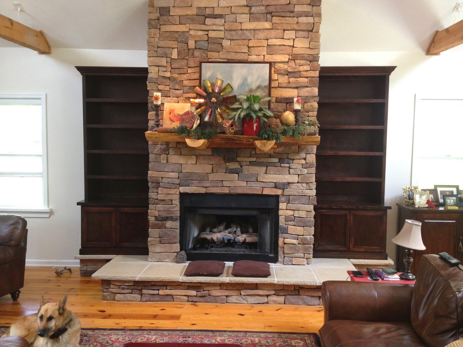 custom fireplace side shelving furniture flawless carpentry