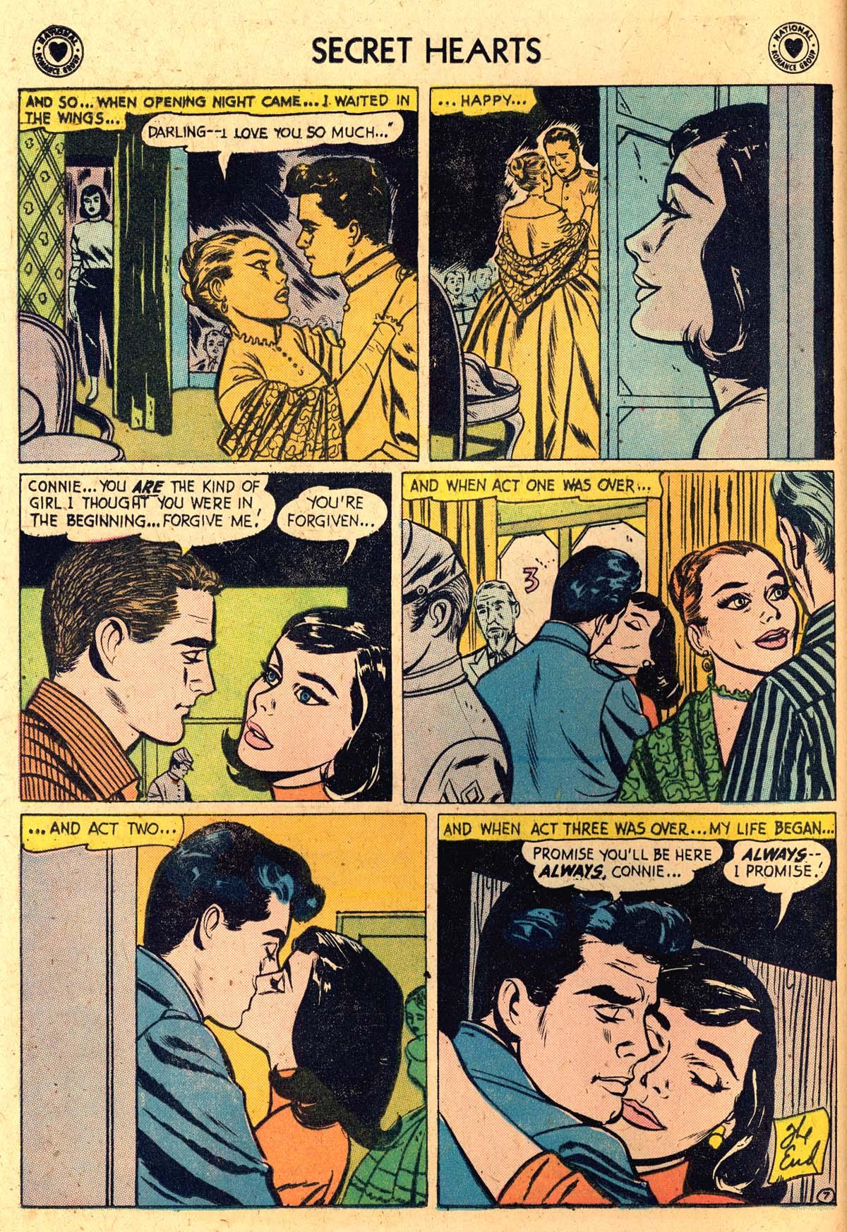 Read online Secret Hearts comic -  Issue #52 - 16