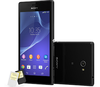 Cara Flash Sony Xperia M2 Dual