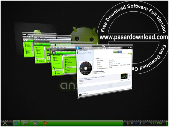 Download Windows 7 Ultimate SP1 AIO Android Edition 2014