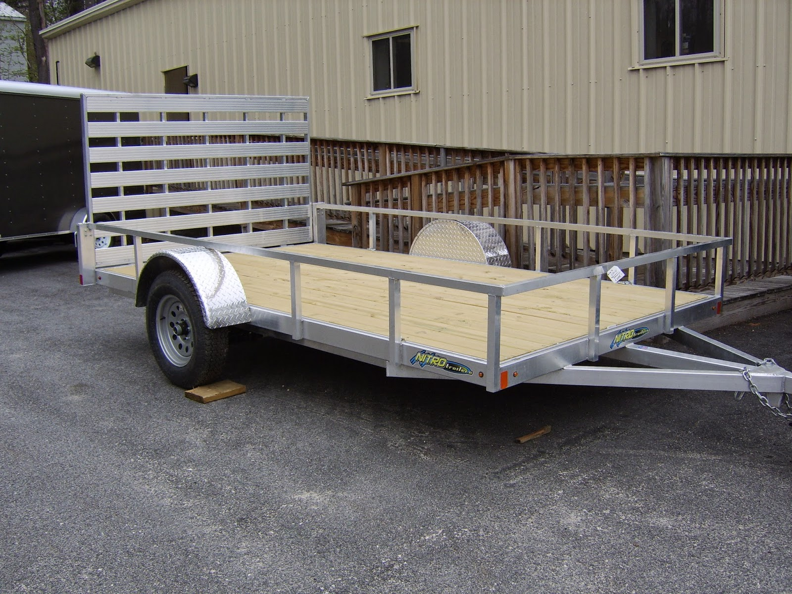 Utility Trailer Setup 5 Bikes 991958 likewise Look Trailers Stlc6x12si2 Single Axle Enclosed Trailer For Sale additionally Diamond Cargo 5x10 Single Axle besides Nitro Aluminum Utility Trailer further 6x10 Tail Gate Trailer. on 5x10 dump trailers