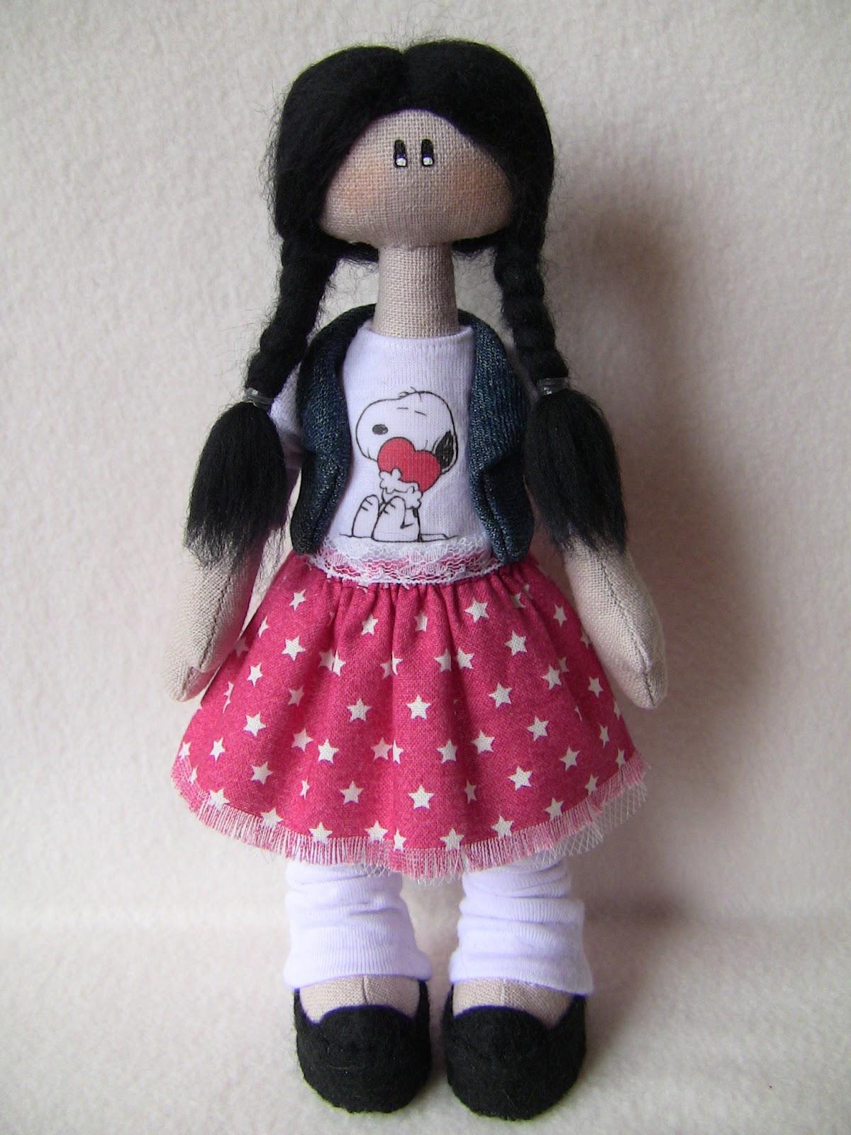 Кукла своими руками для начинающих