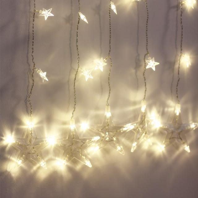 Rideau de lumières Stella Jysk