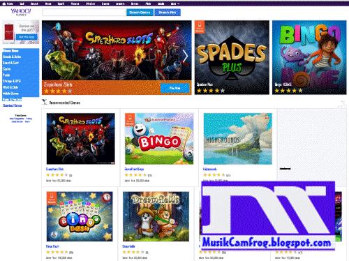 situs game online terpopuler yahoo Games