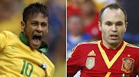 Prediksi Final Piala Konfederasi 2013 Brazil Vs Spanyol