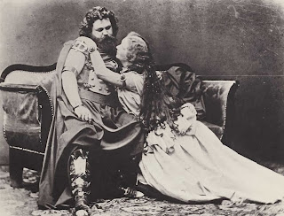 Ludwig and Malvina Schnorr von Carolsfeld as Tristan and Isolde