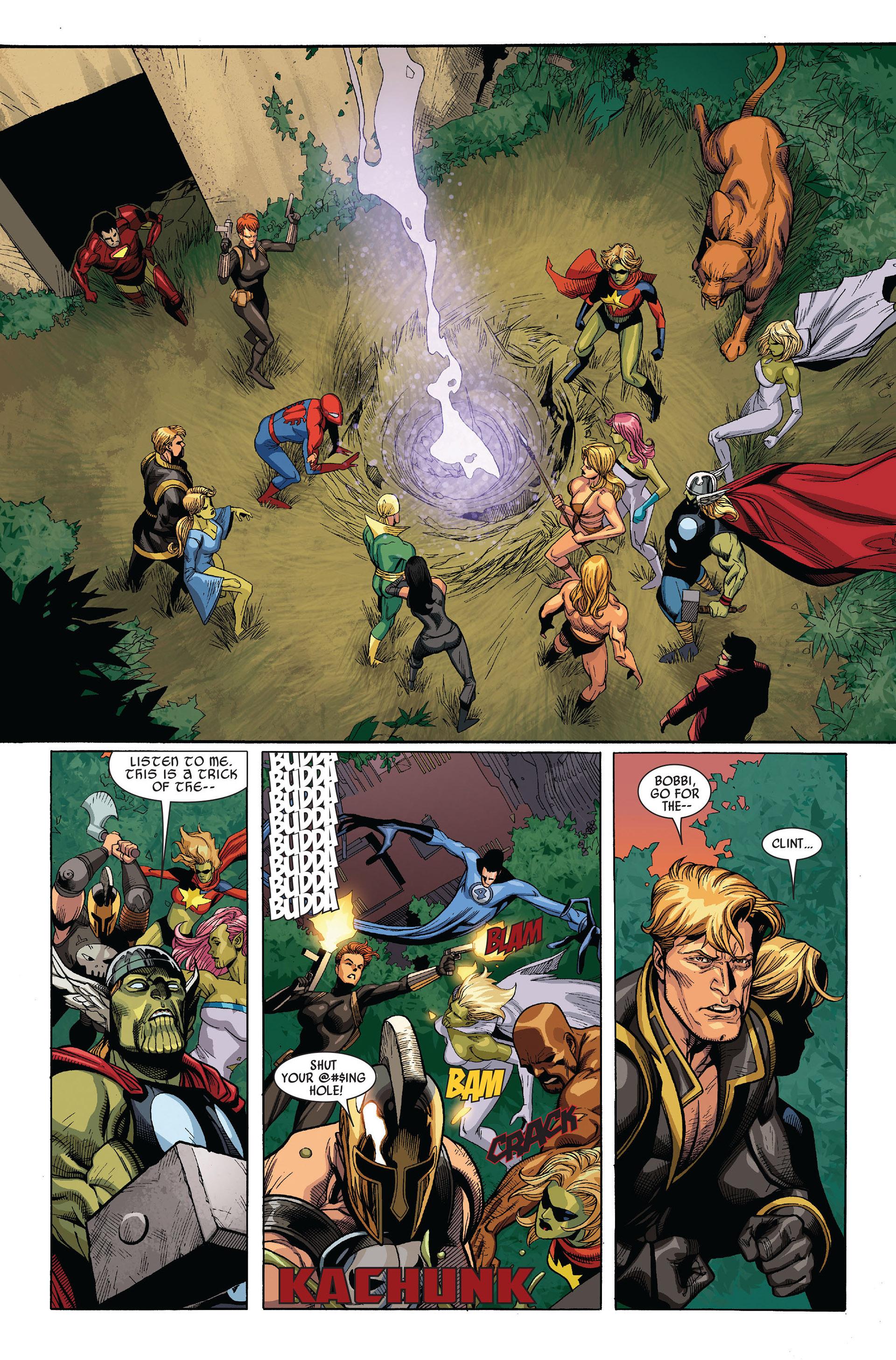 Read online Secret Invasion comic -  Issue #5 - 20
