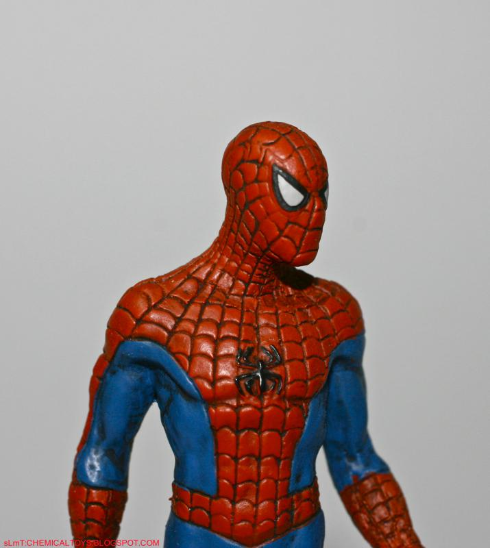 Classic spiderman toys from