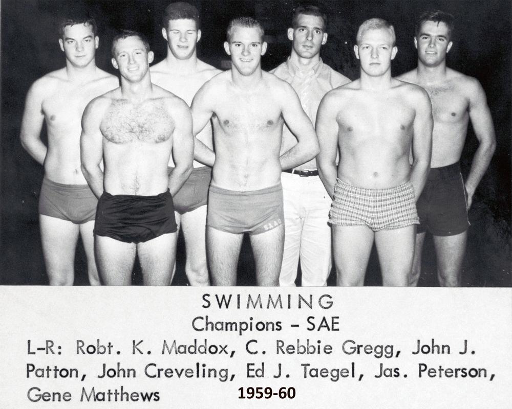 70s Male Swim Class Nude