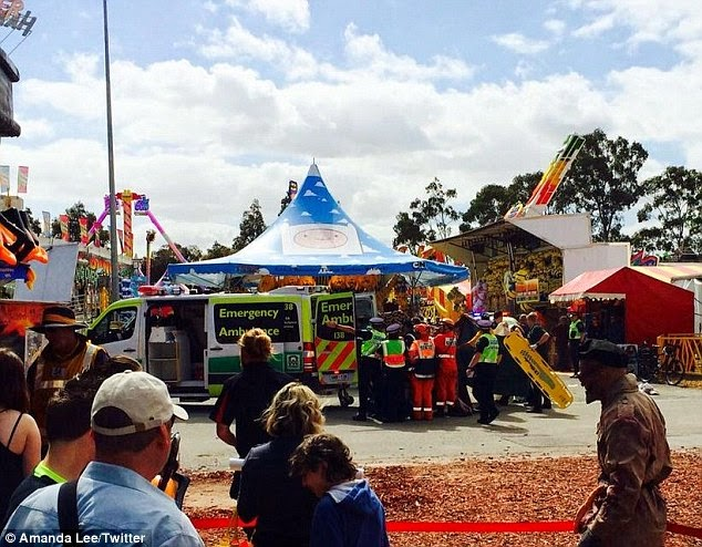 Kanak kanak Warga Malaysia maut jatuh kenaikan berputar di Adelaide