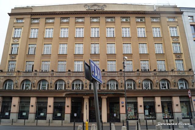 Warszawa Warsaw Bracka 25 bracia Jabłkowscy Śródmieście sklep