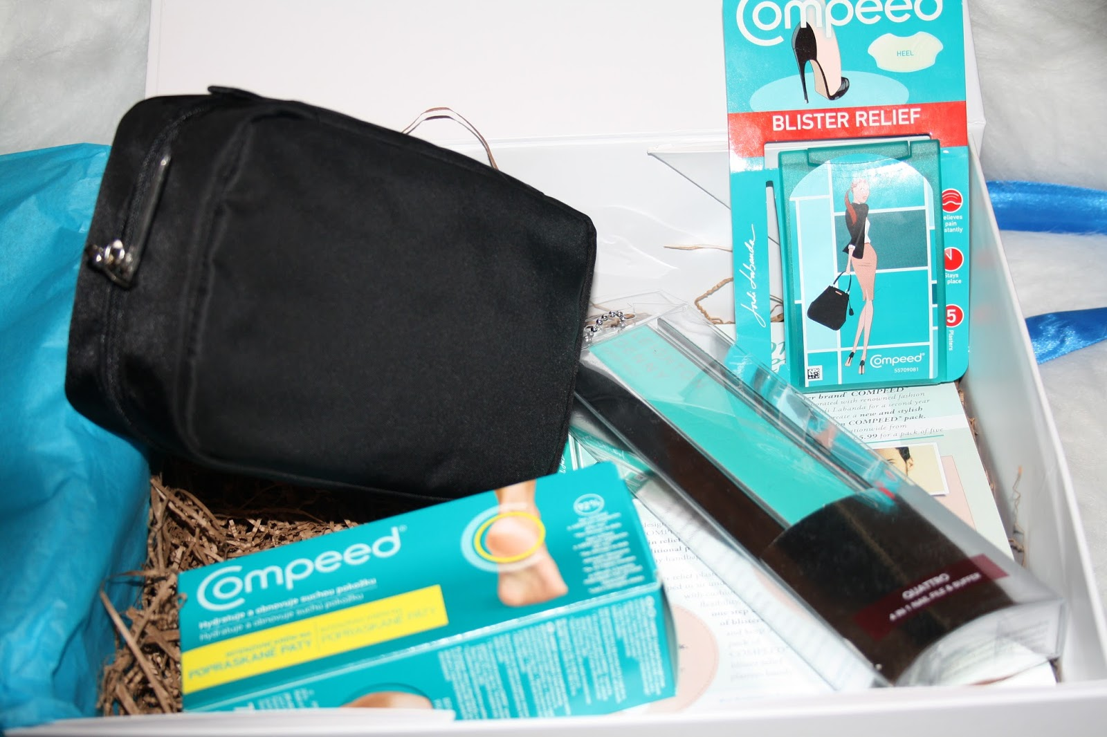 Compeed Hamper with Leighton Denny and Bobbi Brown