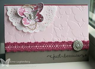 """lovetostamp stampinup artisan embellishment kit """"a dozen thoughts"""""""