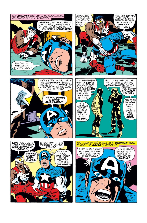 Captain America (1968) Issue #196 #110 - English 5