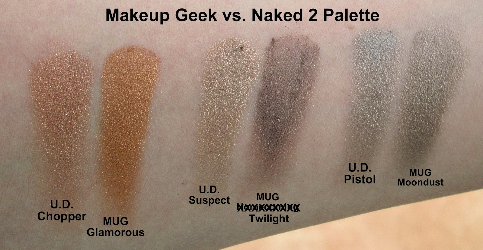 of The Makeup Geek Colors