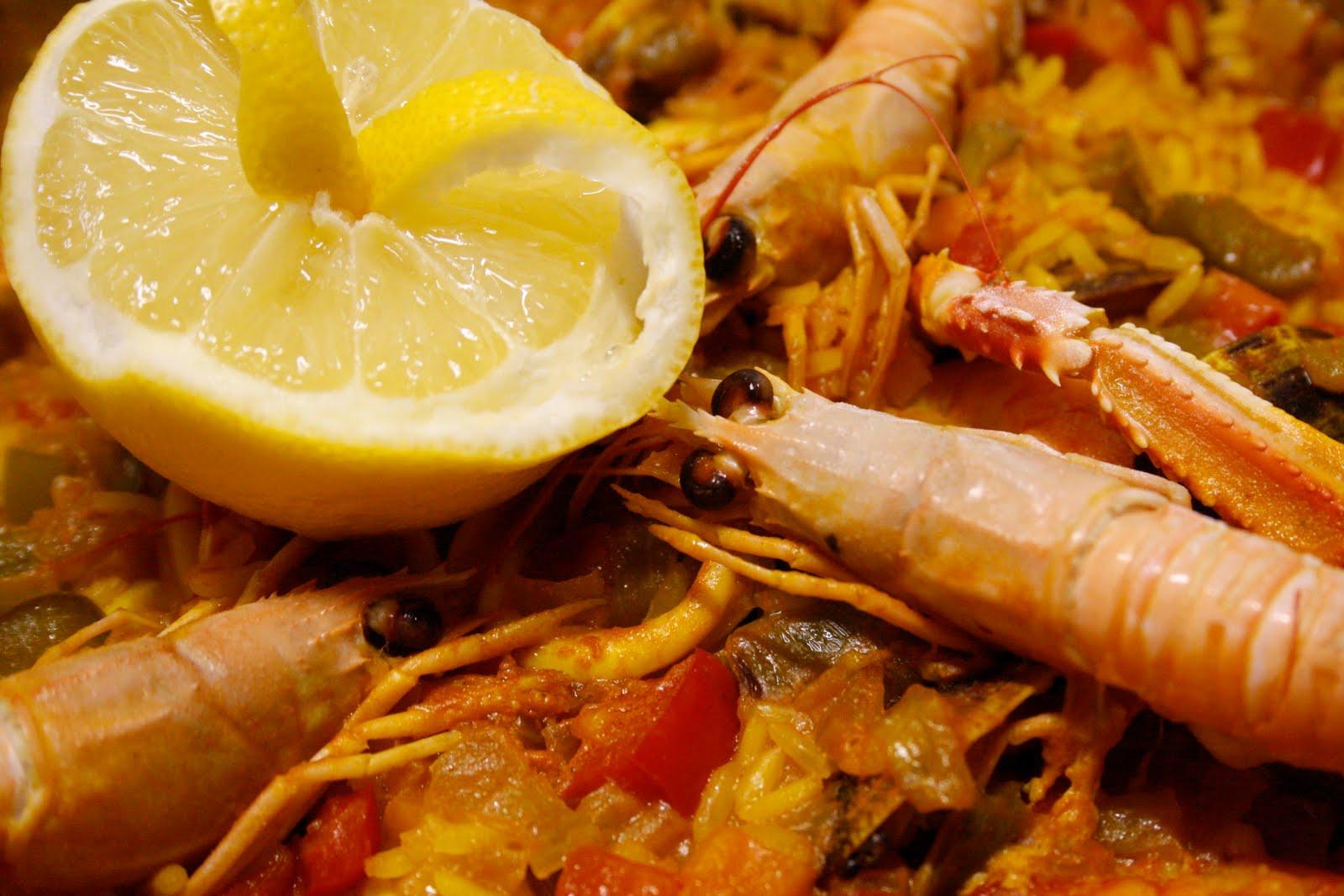 La cocina de maricarmen paella de marisco - Cocinas maricarmen ...