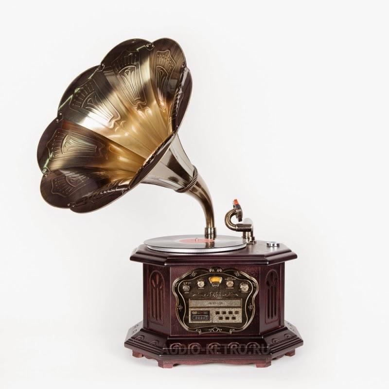 Качественный современный ретро граммофон GP-010 граммофон с классическим дизайном корпуса и современными функциями